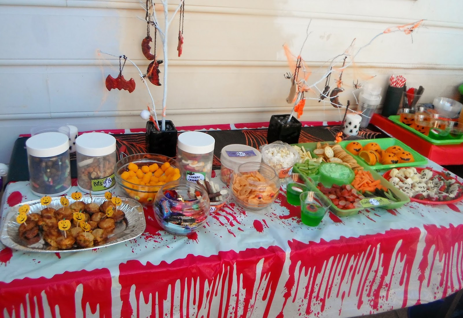 Halloween Food Ideas For Kids Party  Adventures at home with Mum Halloween Party Food