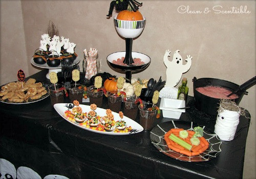 Halloween Food Ideas For Kids Party  Halloween Party Ideas Clean and Scentsible