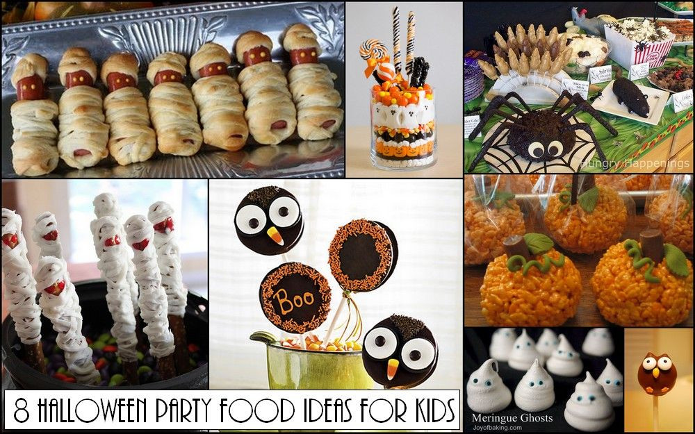 Halloween Food Ideas For Kids Party  Halloween Party Food Ideas – Kids Edition