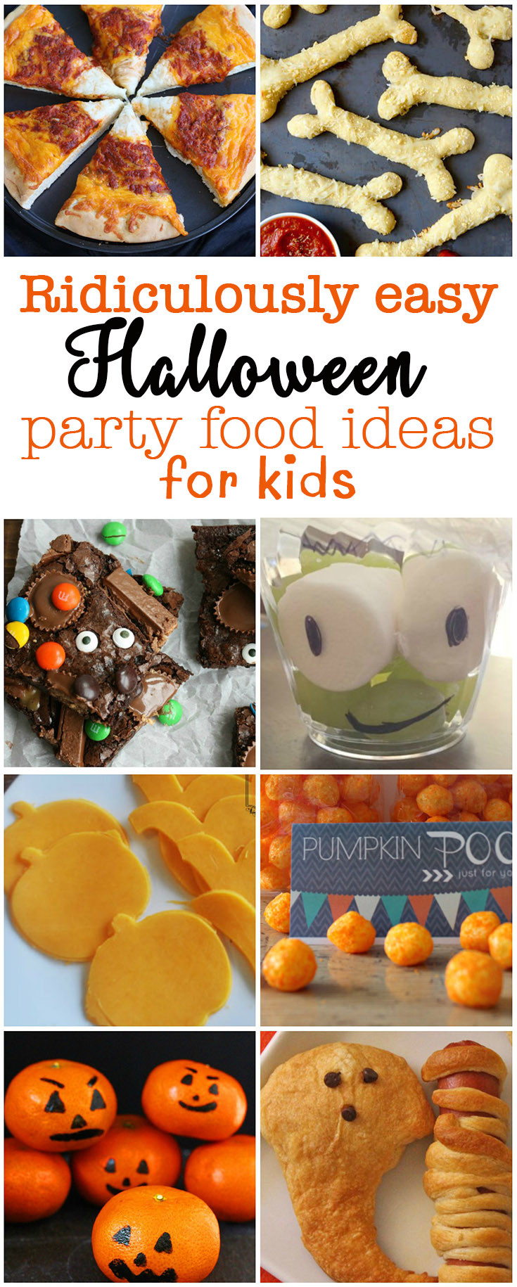 Halloween Food Ideas For Kids Party  Ridiculously easy Halloween party food for kids Eat