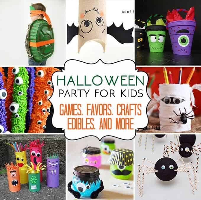 Halloween Ideas For Kids Party  37 Halloween Party Ideas Crafts Favors Games & Treats