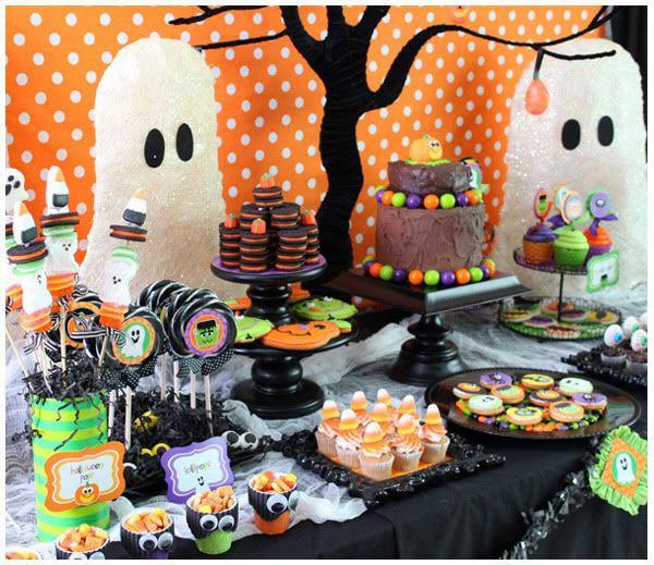 Halloween Ideas For Kids Party  Best 25 Halloween dessert table ideas on Pinterest