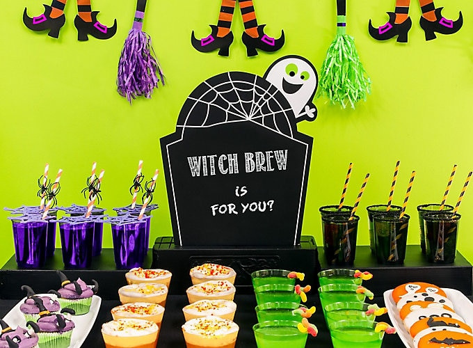 Halloween Ideas For Kids Party  Kid Friendly Halloween Drink Ideas Party City