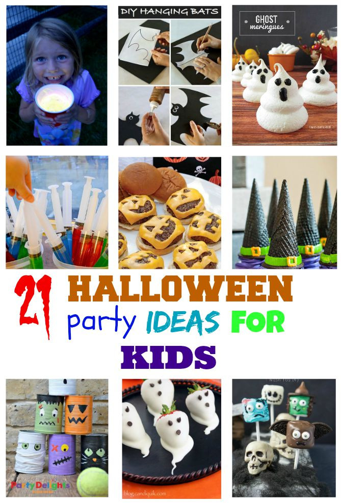 Halloween Ideas For Kids Party  10 Ghoulishly Great Easy Halloween Recipes for kids