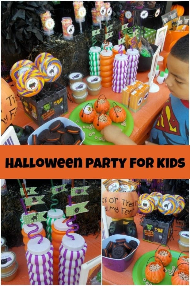 Halloween Ideas For Kids Party  A Halloween Party Perfect for Younger Kids