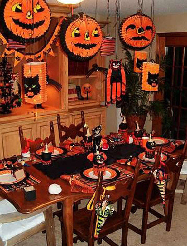Halloween Ideas For Party  20 Ideas for Halloween Table Decoration