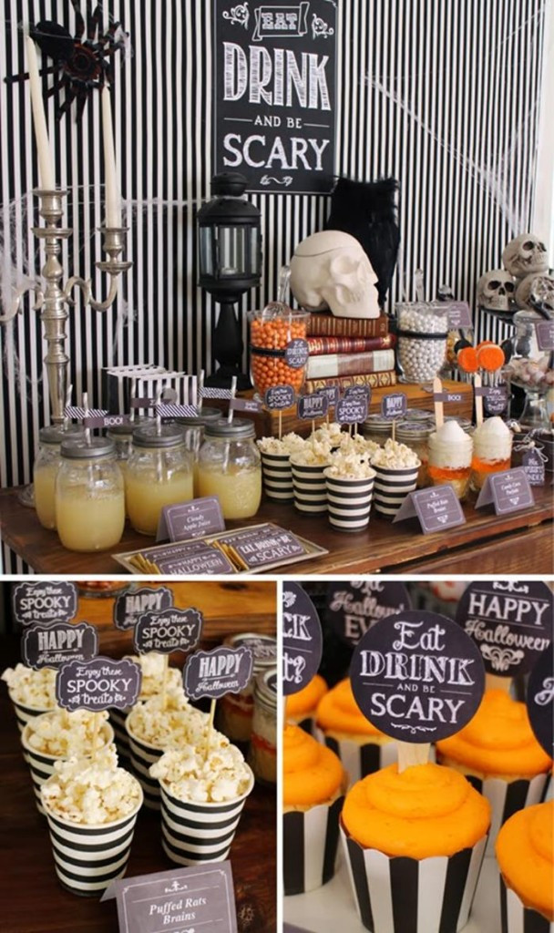 Halloween Ideas For Party  Halloween Party Ideas Godfather Style