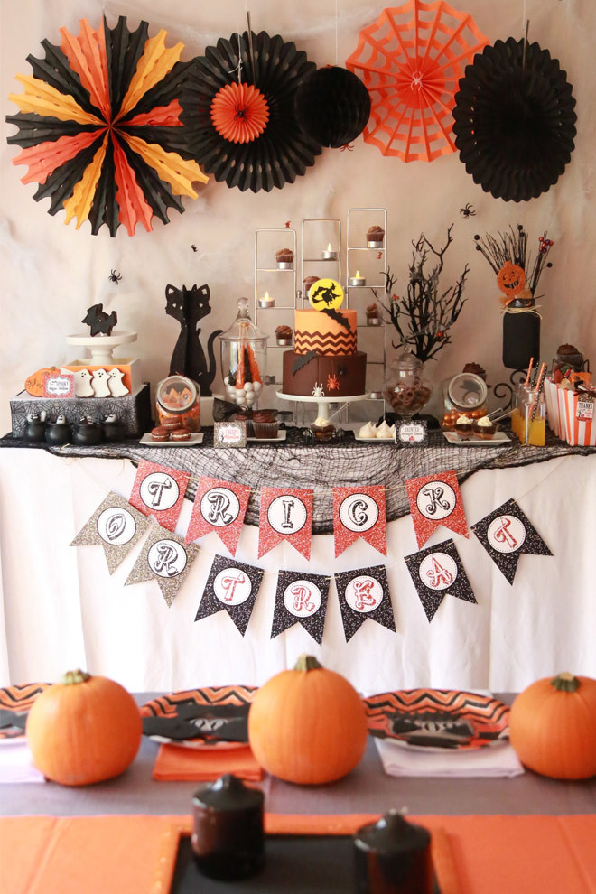 "Halloween Ideas For Party  Halloween ""Chocolate Bar"" Party"