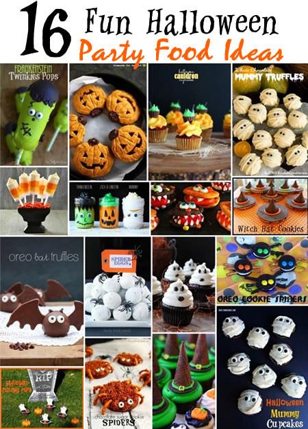 Halloween Kids Party Food Ideas  16 Fun Halloween Party Food Ideas