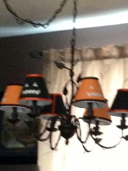 Halloween Lamp Shade Covers  Halloween Lamp Shade Covers