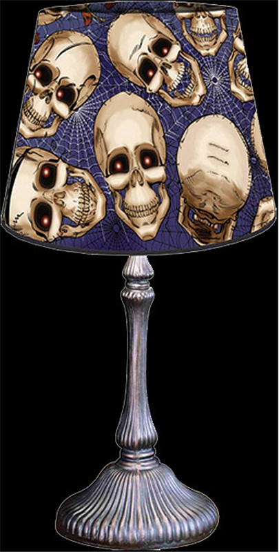 Halloween Lamp Shade Covers  Spooky Scenes Lamp Shade Cover