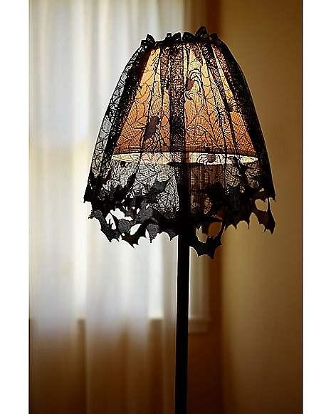 Halloween Lamp Shade Covers  Bat Lamp Shade Cover Spirithalloween