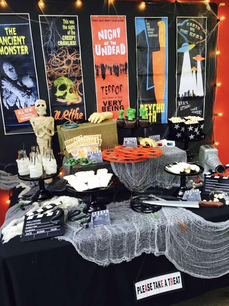 Halloween Movie Party Ideas  Horror Movie Halloween Halloween Party Ideas