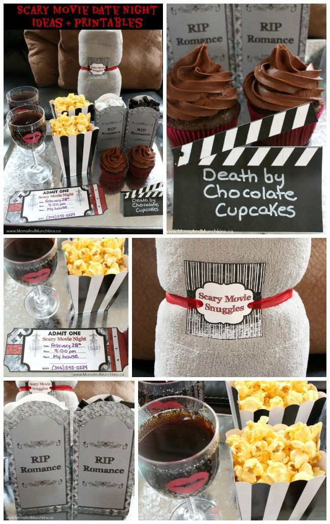 Halloween Movie Party Ideas  Scary Movie Date Night Ideas