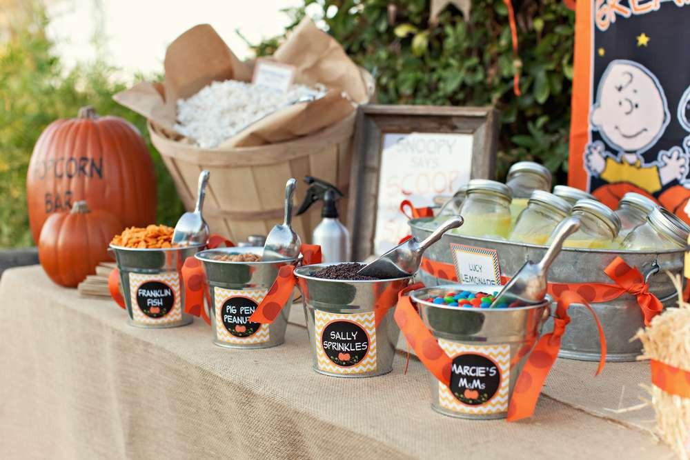 Halloween Movie Party Ideas  Halloween Movie Night Party Ideas 10 of 17