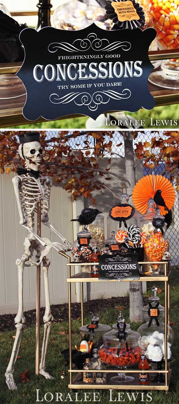 Halloween Movie Party Ideas  Let's Go to the Movies A Halloween Drive In Party