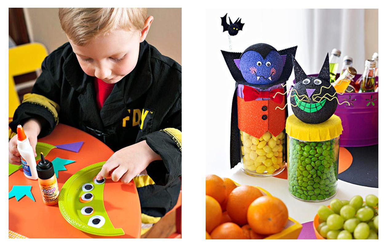 Halloween Party Craft Ideas  It s Written on the Wall Fun Halloween Crafts and Party