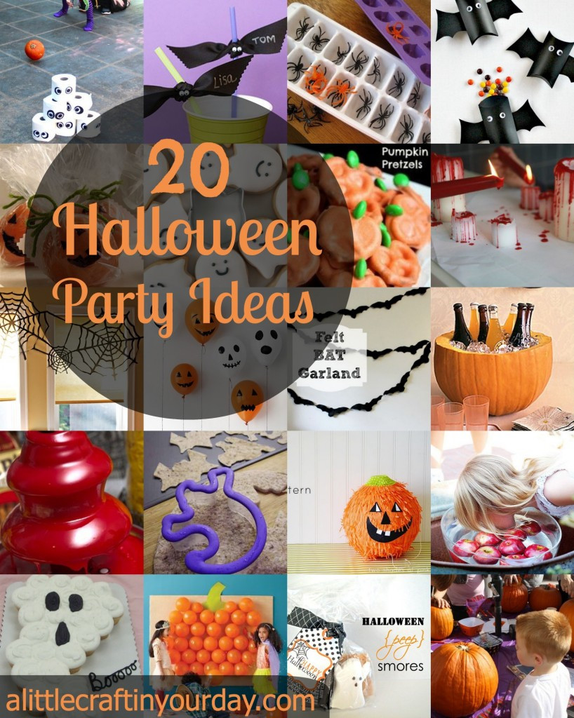 Halloween Party Craft Ideas  104 Halloween Craft Ideas A Little Craft In Your DayA