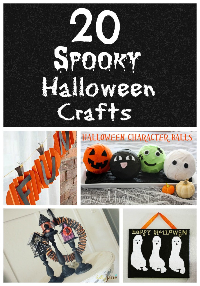 Halloween Party Craft Ideas  Life With 4 Boys 20 Halloween Craft Ideas for Kids