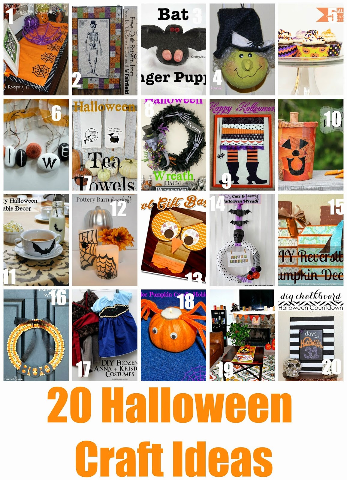 Halloween Party Craft Ideas  Block Party 20 Halloween Craft Ideas Features Page 2 of