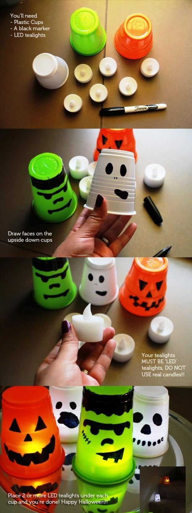 Halloween Party Craft Ideas  Fun DIY Halloween Craft Ideas 35 Pics
