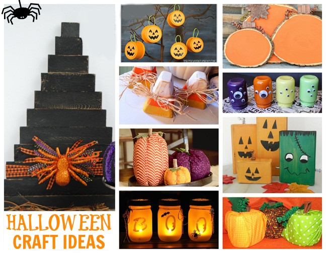 Halloween Party Craft Ideas  DIY Halloween Craft Ideas & More