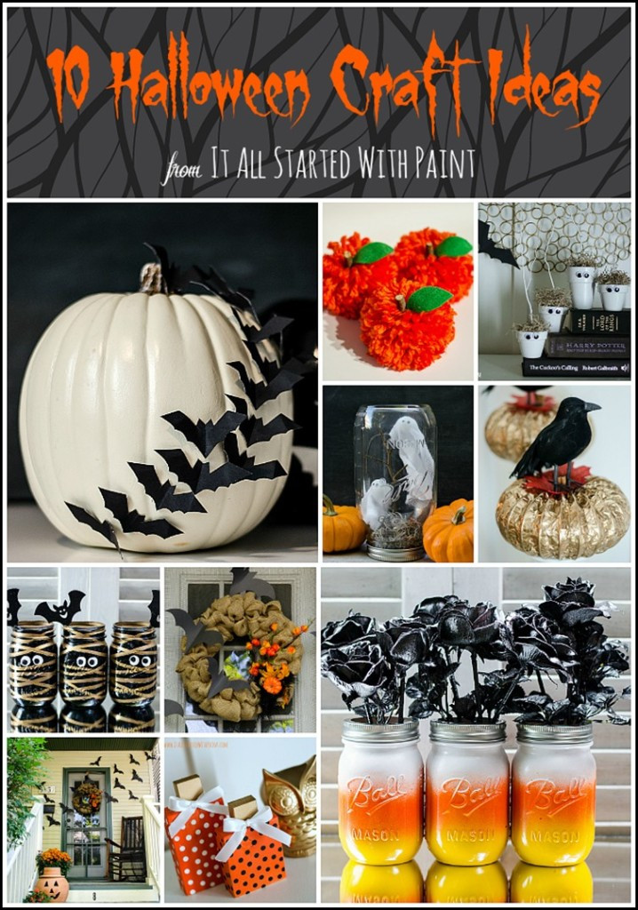 Halloween Party Craft Ideas  Halloween Craft Ideas for Kids