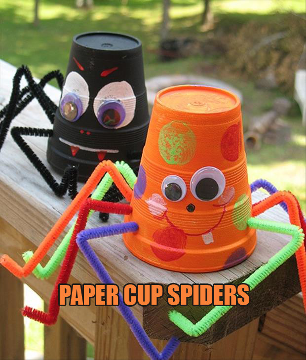 Halloween Party Craft Ideas  Do It Yourself Halloween Craft Ideas 24 Pics