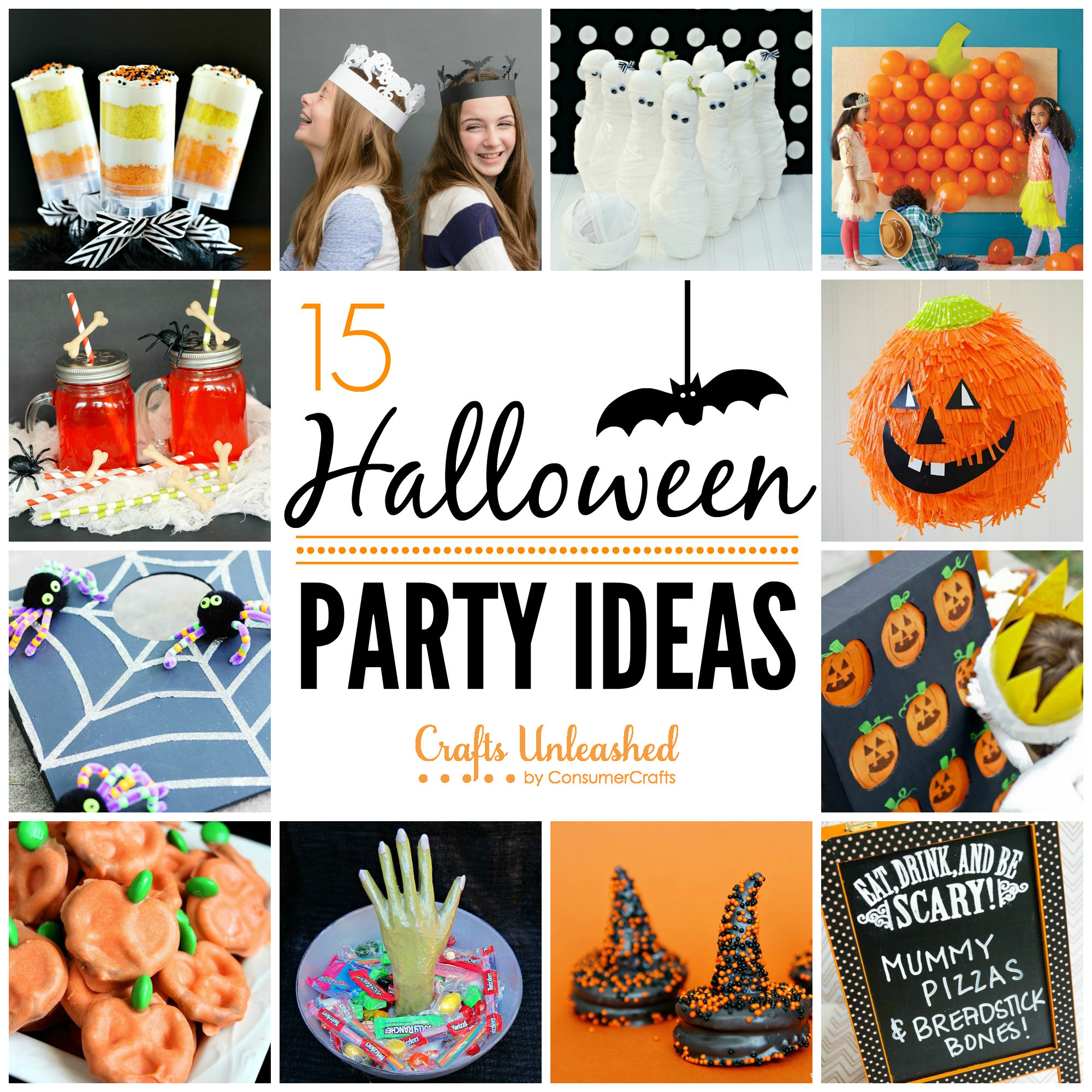 Halloween Party Craft Ideas  Halloween Party Ideas Crafts Unleashed