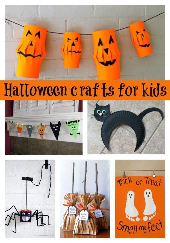 Halloween Party Craft Ideas  30 Halloween Craft Ideas For Kids Pretty My Party