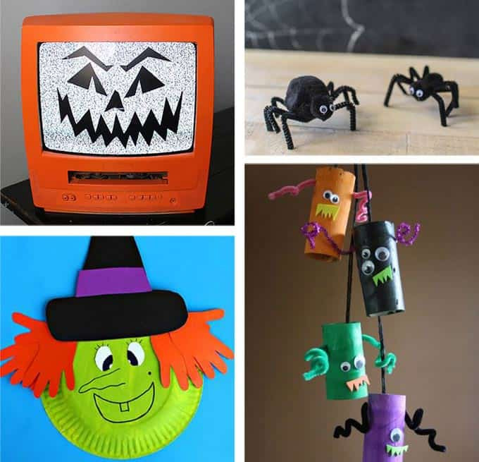 Halloween Party Craft Ideas  37 Halloween Party Ideas Crafts Favors Games & Treats
