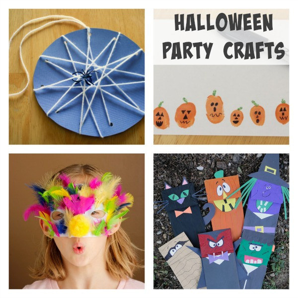 Halloween Party Craft Ideas  Simple Ideas for Your Halloween Class Party