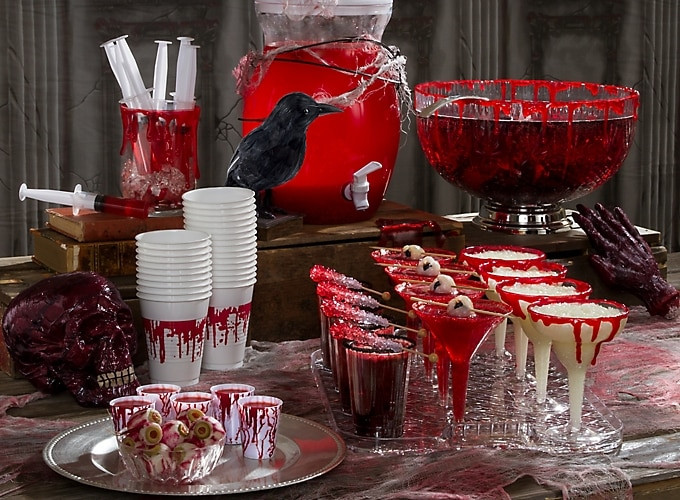 Halloween Party Decoration Ideas Adults  Bloody Good Drink Ideas Party City