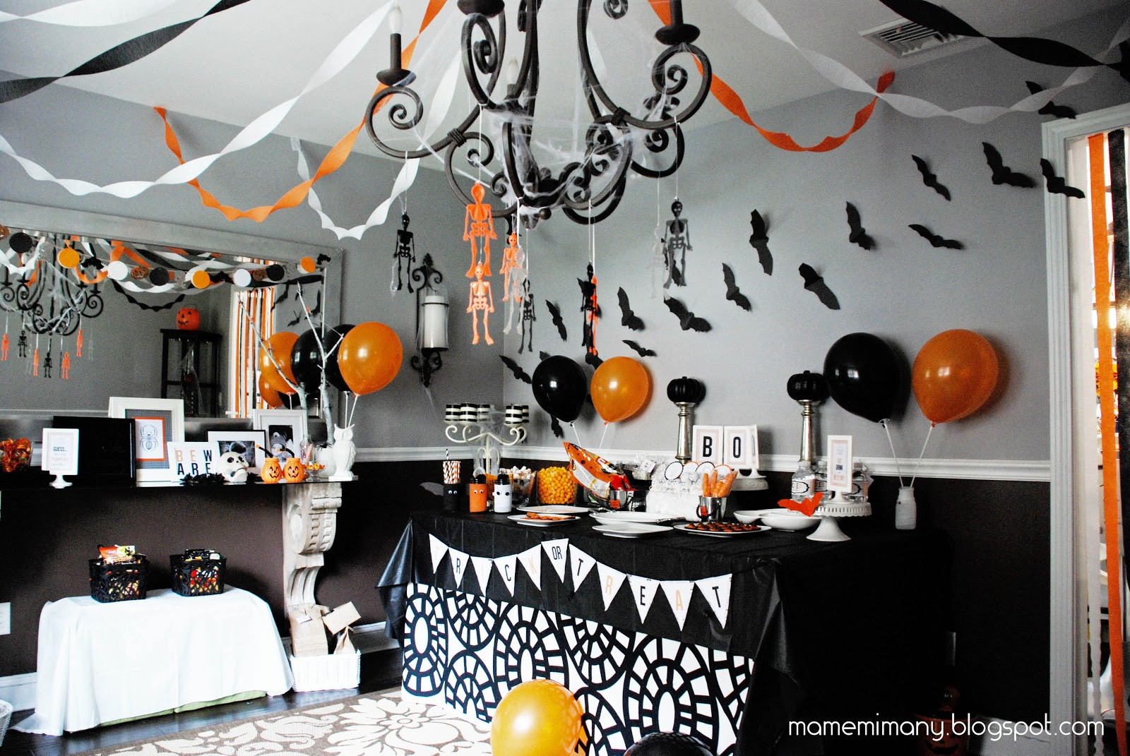 Halloween Party Decoration Ideas Adults  MaMeMima real party a halloween party