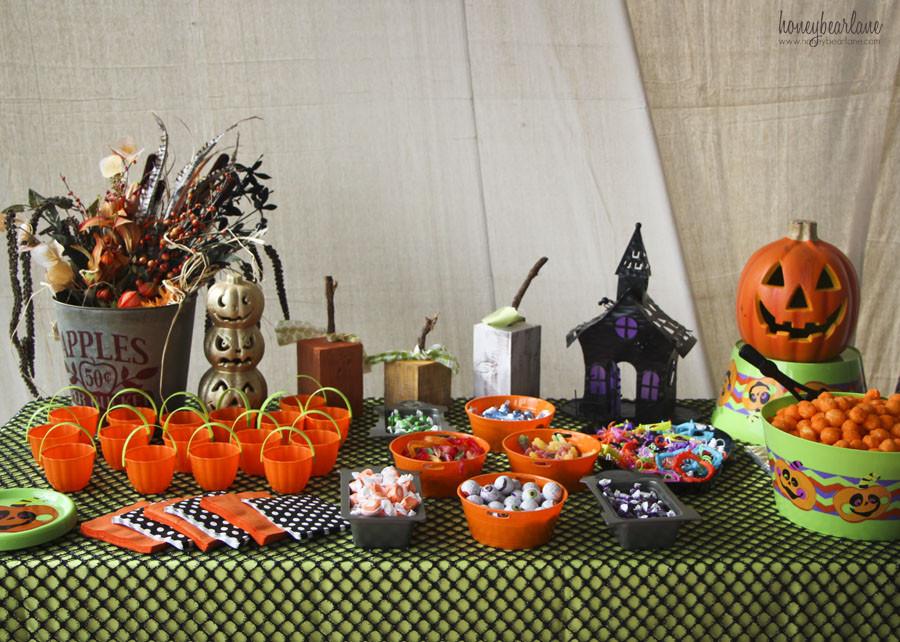Halloween Party Decoration Ideas Adults  Kids Halloween Party Ideas Honeybear Lane