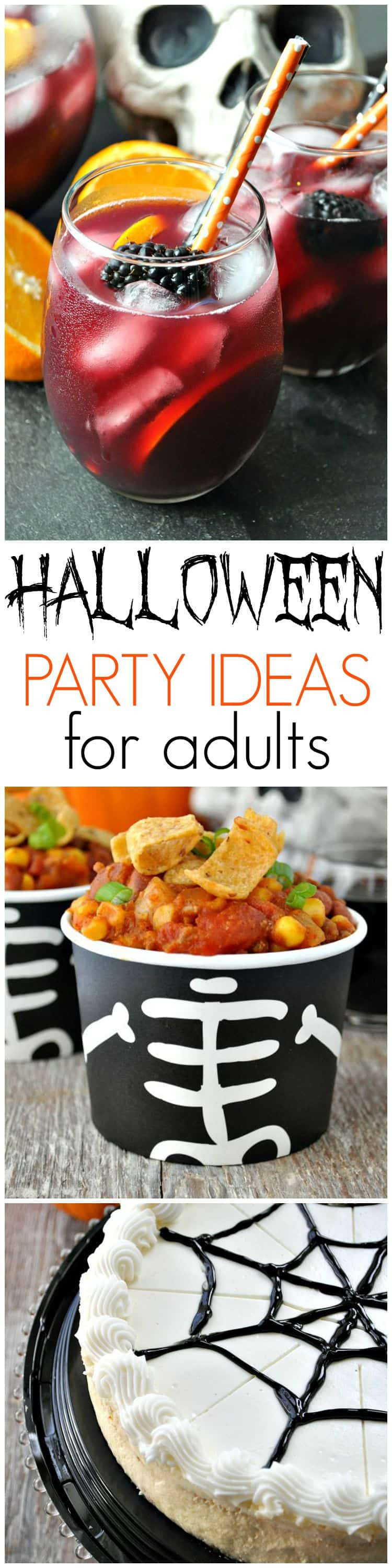 Halloween Party Decorations Ideas For Adults  Slow Cooker Pumpkin Chili Halloween Party Ideas for