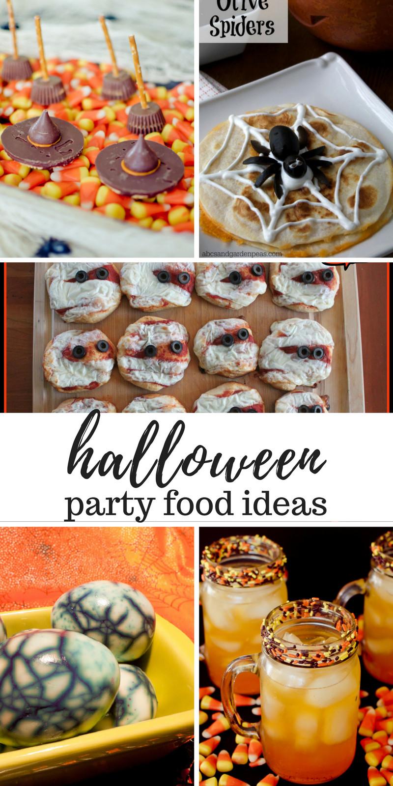 Halloween Party Food Ideas Pinterest  Halloween Party Food Ideas
