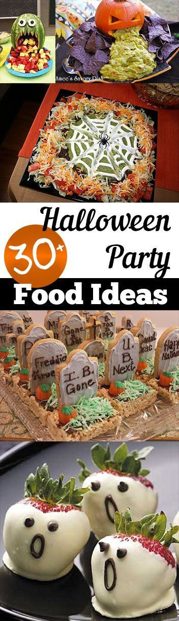 Halloween Party Food Ideas Pinterest  Halloween party foods Food ideas and Parties food on