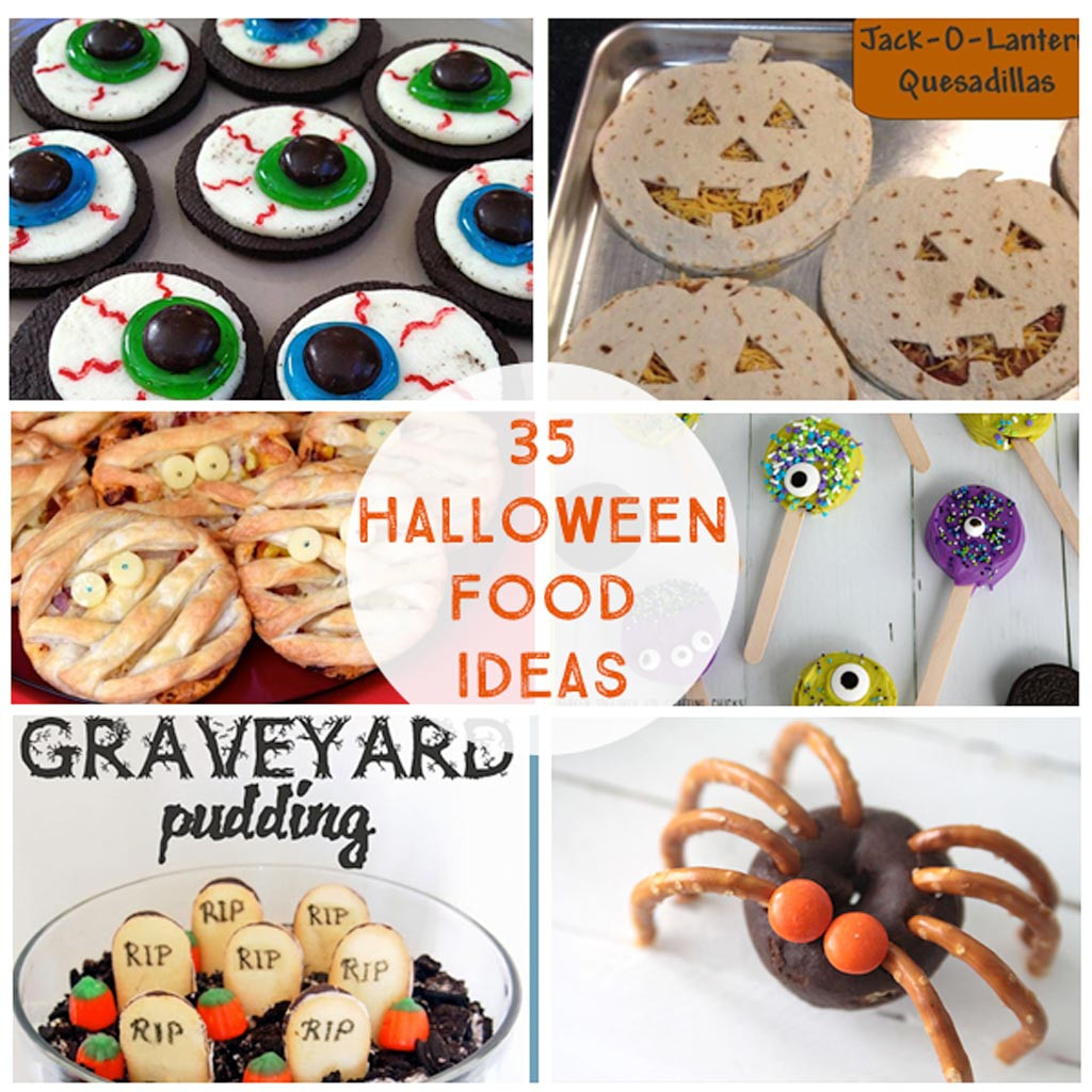 Halloween Party Food Ideas Pinterest  35 Halloween Party Food Ideas The Crafting Chicks