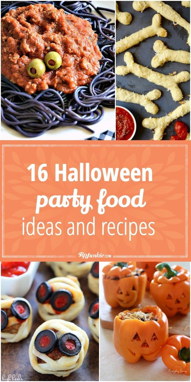 Halloween Party Food Ideas Pinterest  343 best Halloween Food Ideas images on Pinterest