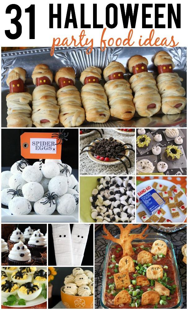Halloween Party Food Ideas Pinterest  Halloween Party Food
