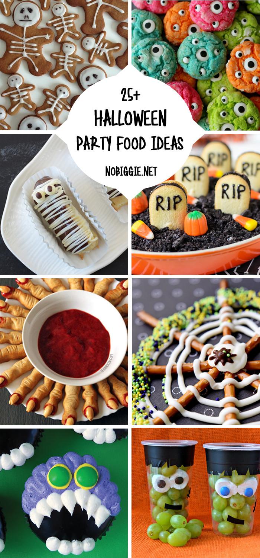 Halloween Party Food Ideas Pinterest  25 Halloween Party Food Ideas
