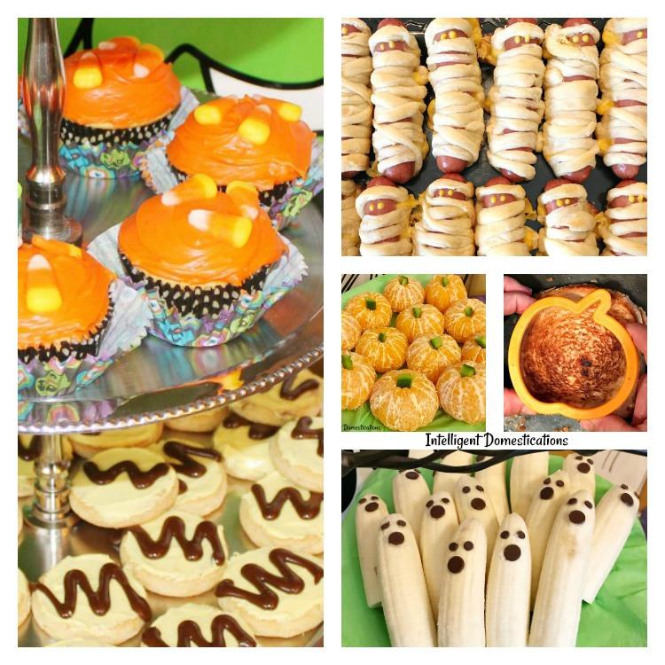 Halloween Party Food Ideas Pinterest  Seven Super Easy Halloween Party Food Ideas