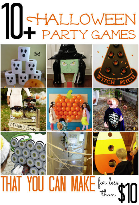 Halloween Party Games Ideas For Teenagers  Last Minute Halloween Party Ideas onecreativemommy