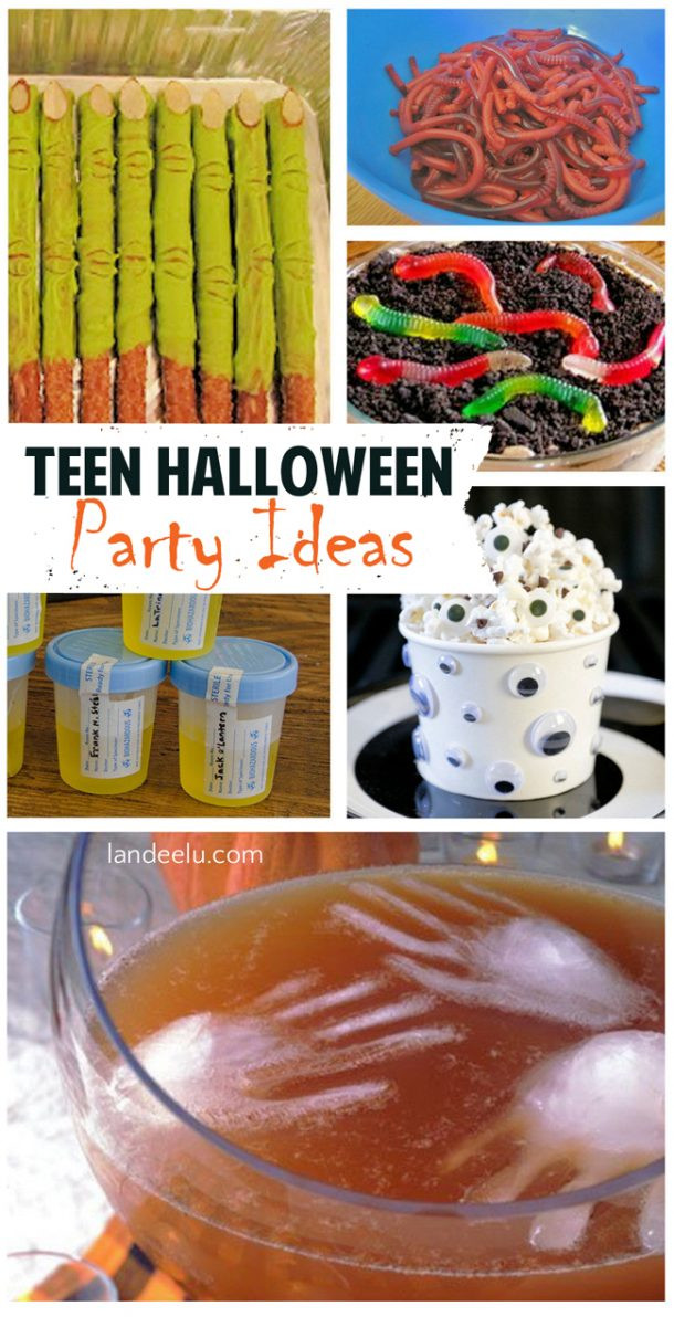 Halloween Party Games Ideas For Teenagers  Teen Halloween Party Ideas