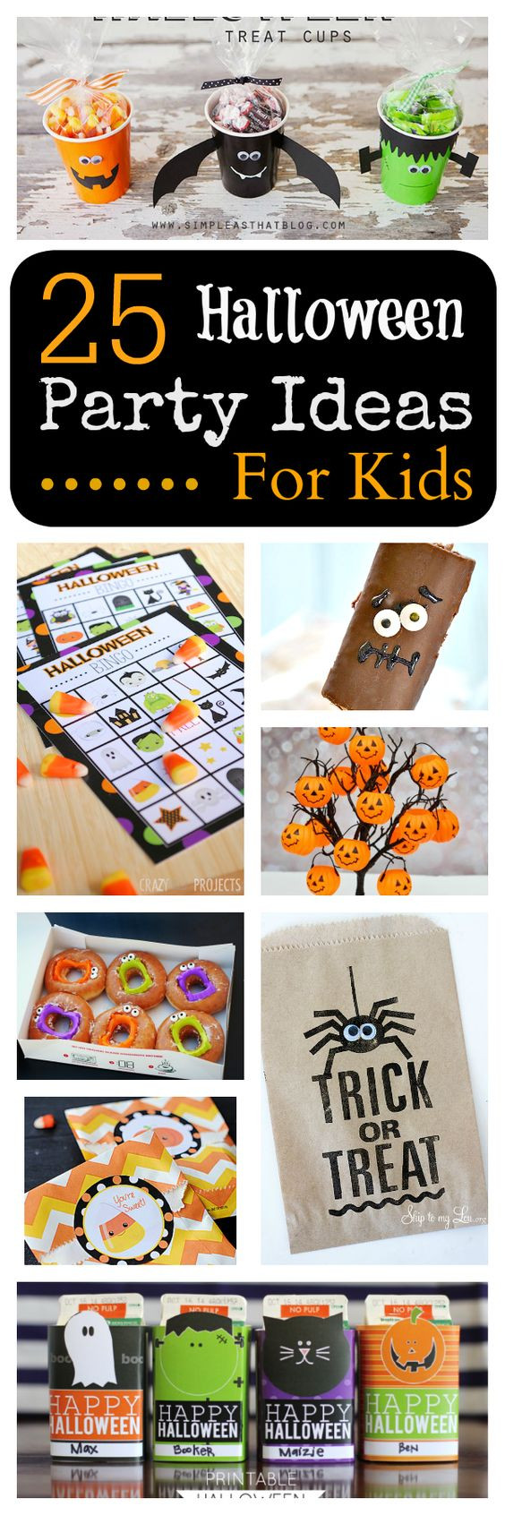 Halloween Party Games Ideas For Teenagers  25 School Halloween Party Ideas for Kids