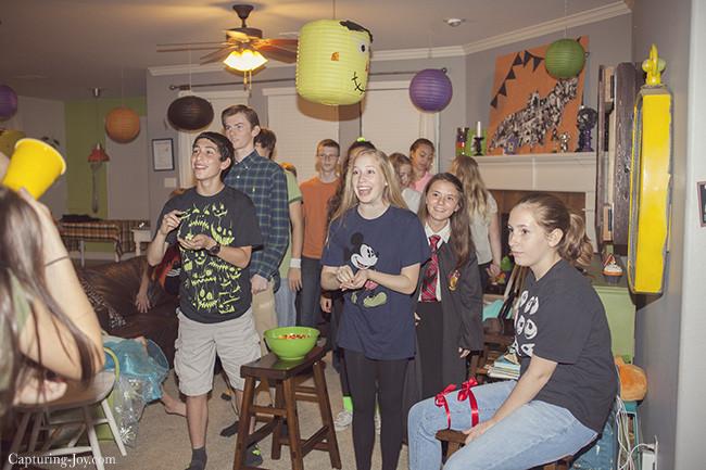 Halloween Party Games Ideas For Teenagers  Teen Halloween Party Ideas Capturing Joy with Kristen Duke