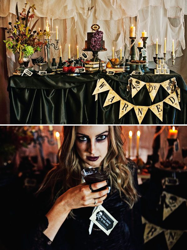 Halloween Party Ideas Adult  1000 ideas about Halloween Party Themes on Pinterest