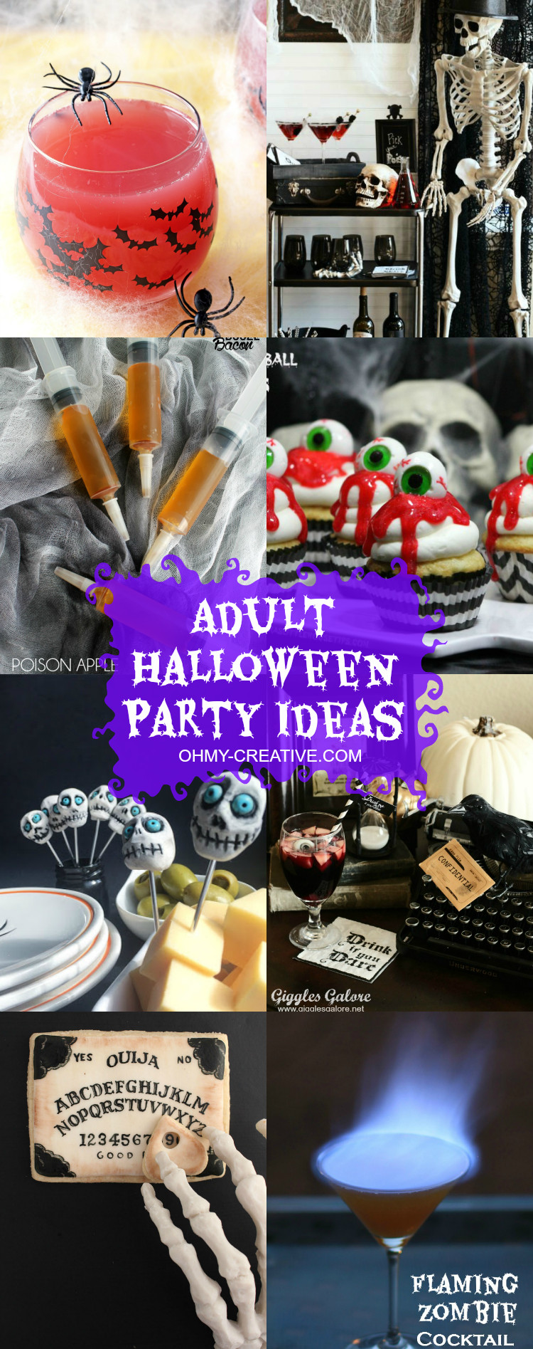 Halloween Party Ideas Adult  Adult Halloween Party Ideas Oh My Creative