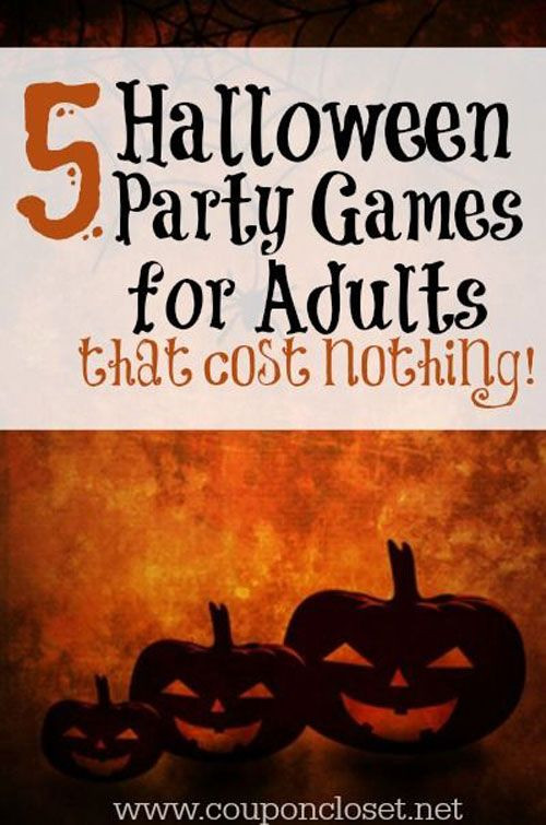 Halloween Party Ideas Adult  25 best ideas about Halloween Games Adults on Pinterest